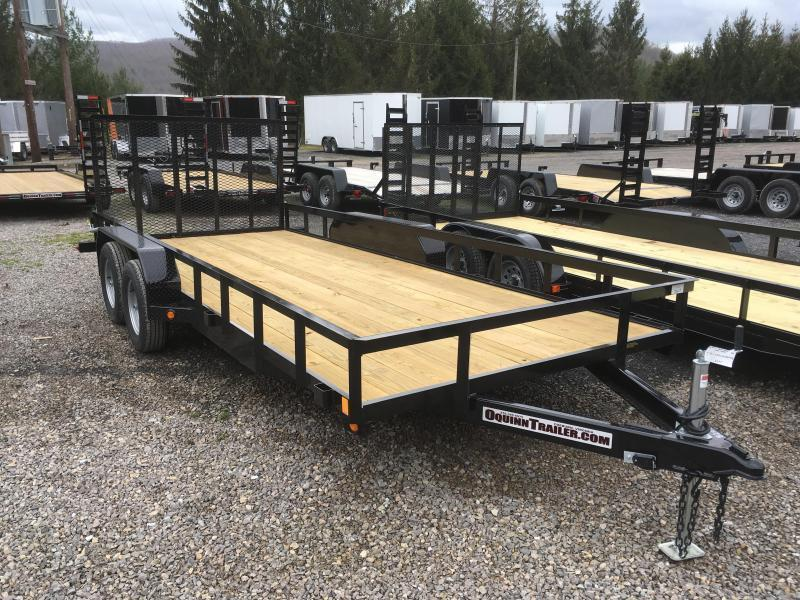 2020 Gatormade Trailers 82x18 Utility Trailer