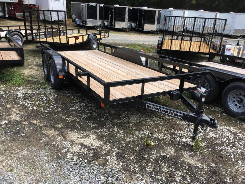 2020 76x16 tandem utility with brakes and no gate Utility Trailer