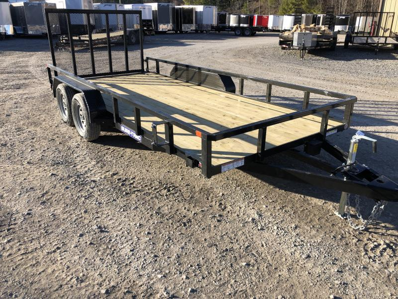 2020 Sure-Trac 82x16 Tube Top w/gate Utility Trailer