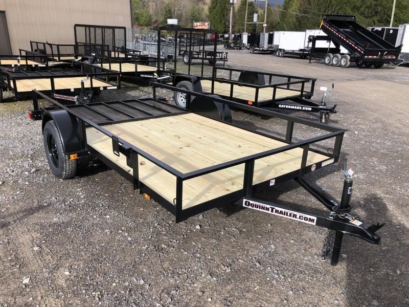 2020 Triple Crown 76x12 single axle w/gate Utility Trailer
