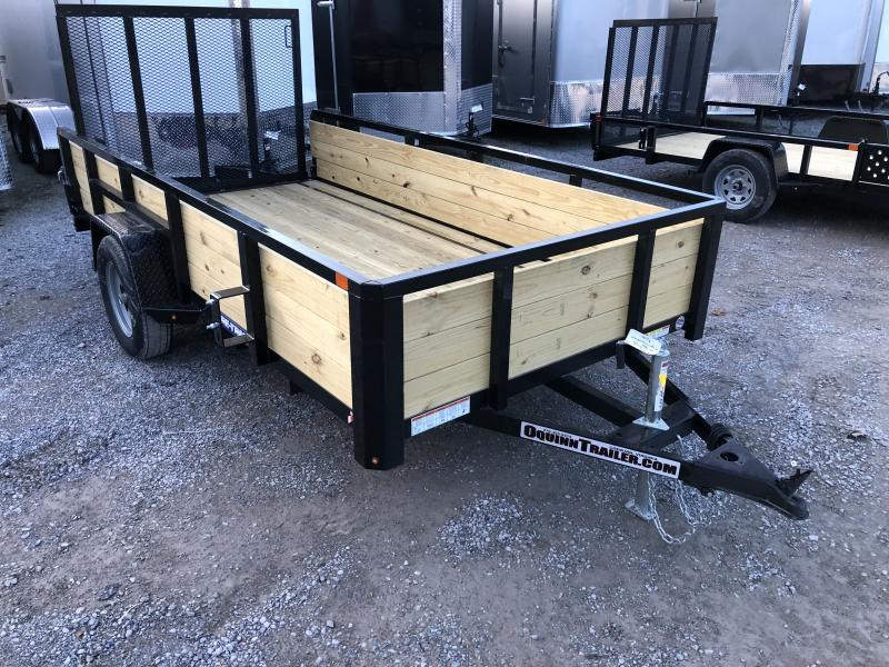 2020 Sure-Trac 6x12 Single Axle 3 Board High Side Utility Trailer