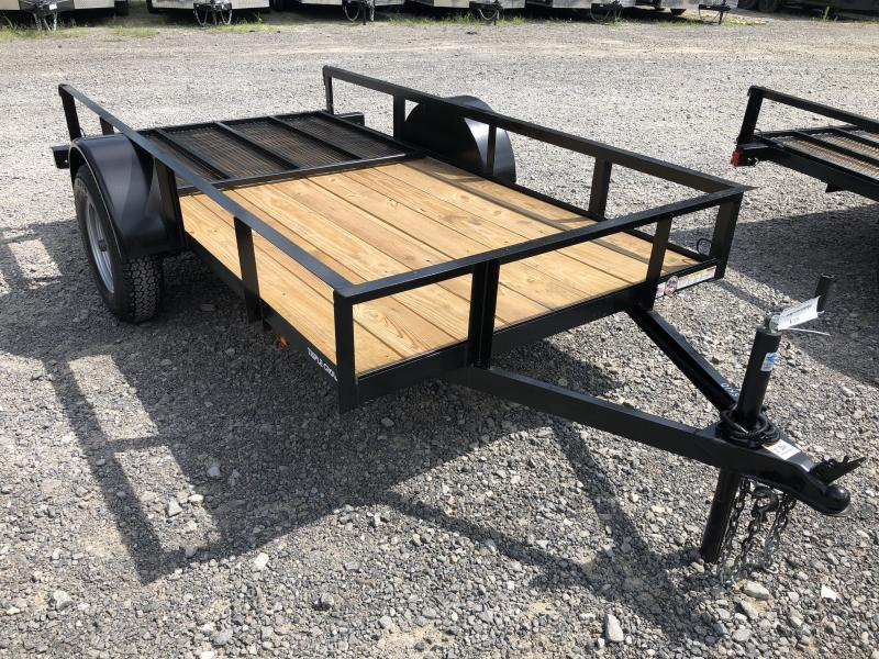 2019 Triple Crown 5x10 single axle w/gate Utility Trailer