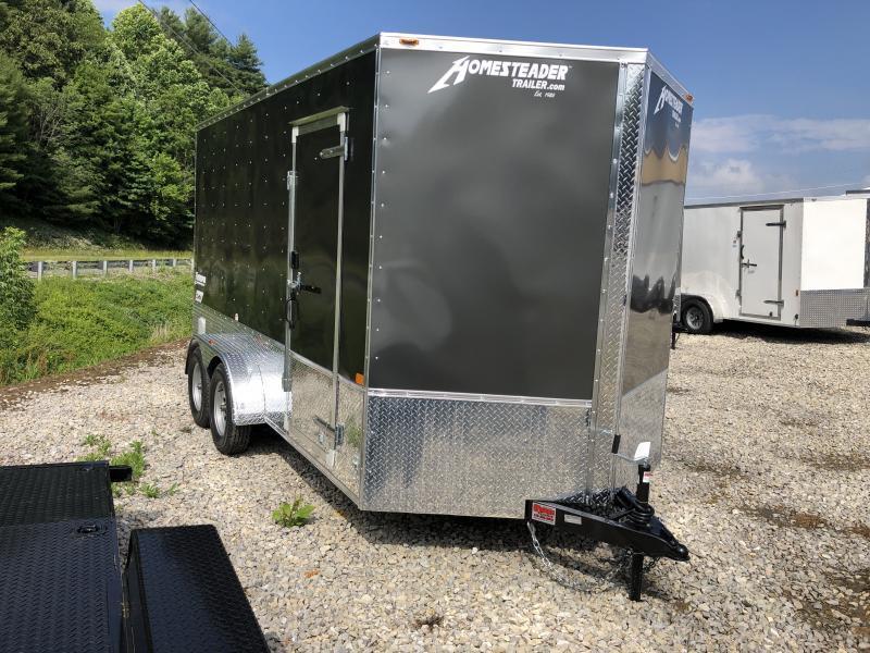 "2020 Homesteader 7x14 Intrepid OHV Pkg 12"" extra ht sd ramp enclosed cargo trailer"