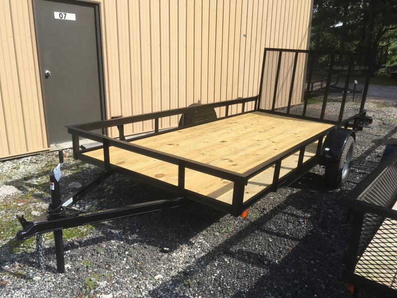 2020 Other (Not Listed) 76x14 gate HD single axle Utility Trailer