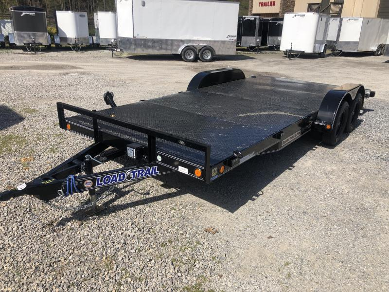 "2020 Load Trail 83X18 Steel Floor Car Hauler 5""channel frame removable fenders"