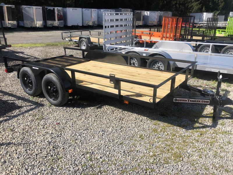 2020 Triple Crown 76x14 tandem axle w/gate Utility Trailer