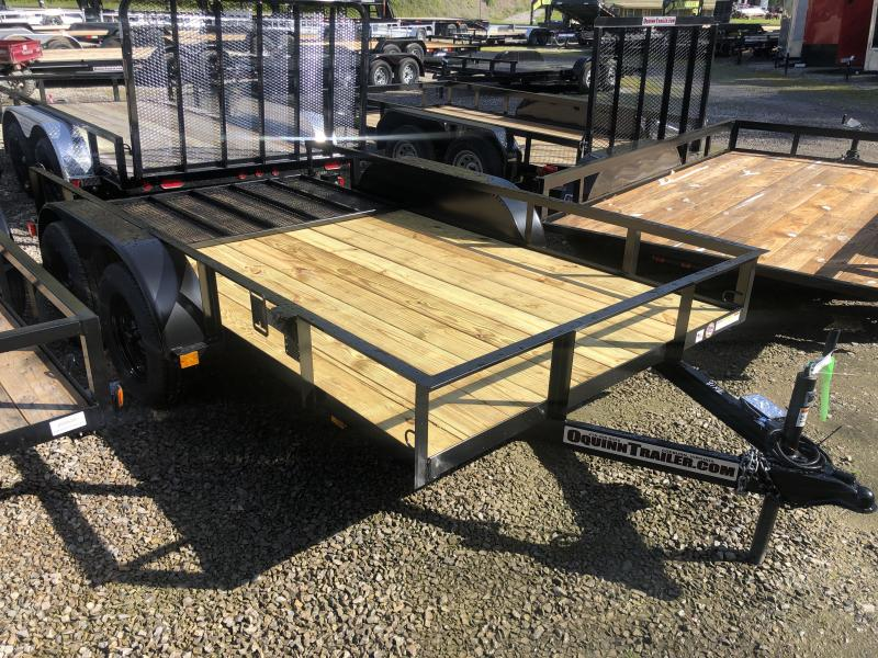 2020 Triple Crown 76x12 tandem axle w/gate Utility Trailer