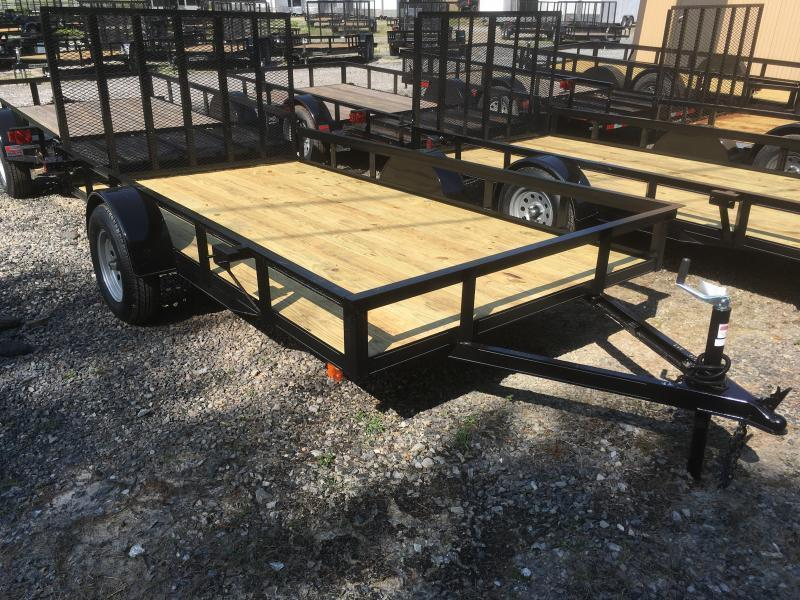 2020 Other (Not Listed) 76x12 gate HD single axle Utility Trailer