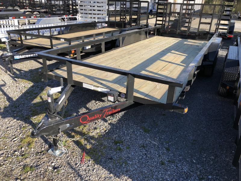 2020 Quality Trailers 82x20 5ton dovetail 4brake HD Gate Utility Trailer