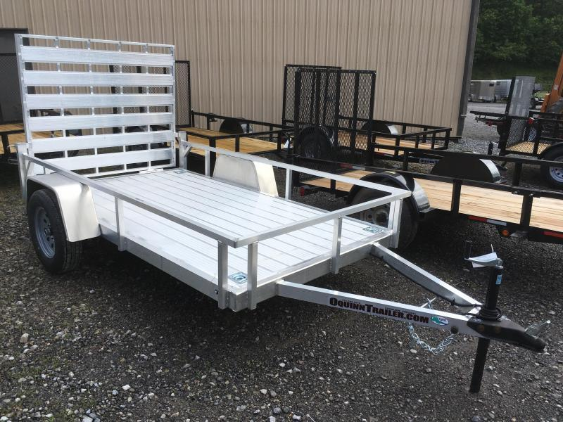 2020 Forest River Inc. 5.5x10 all aluminum Utility Trailer