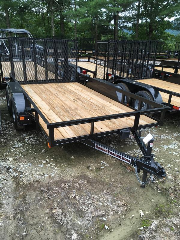 2020 Other (Not Listed) 76X12 gate brake tandem Utility Trailer