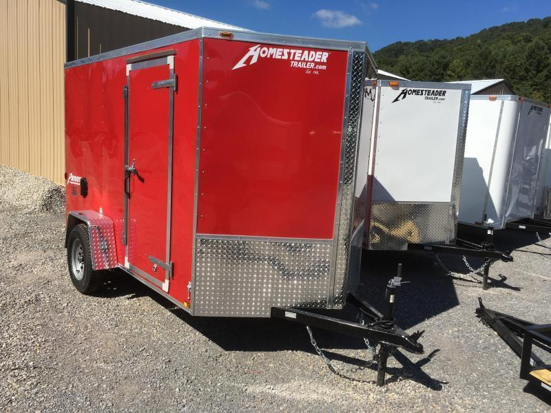 2020 Homesteader Inc. 6x10 intrepid sd ramp single axle Enclosed Cargo Trailer
