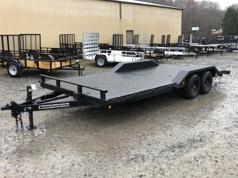 2020 Other (Not Listed) 102x20 5ton drive over fender steel floor car/buggy hauler Car / Racing Trailer