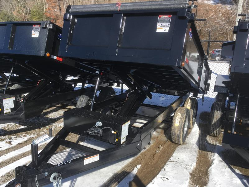 2019 Hawke Trailers 6X12 5TON DECKOVER WITH TARP Dump Trailer