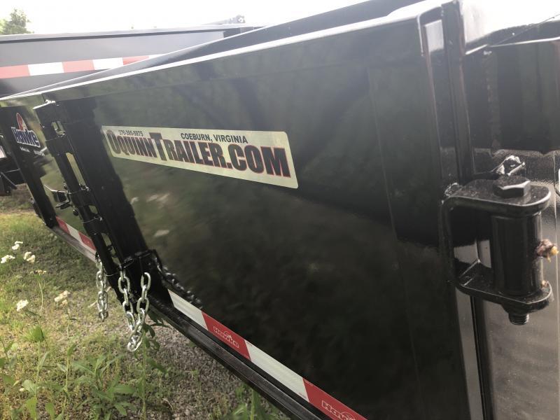 2020 Hawke Trailers 6X10 3.5TON DECKOVER Cardinal series Dump Trailer