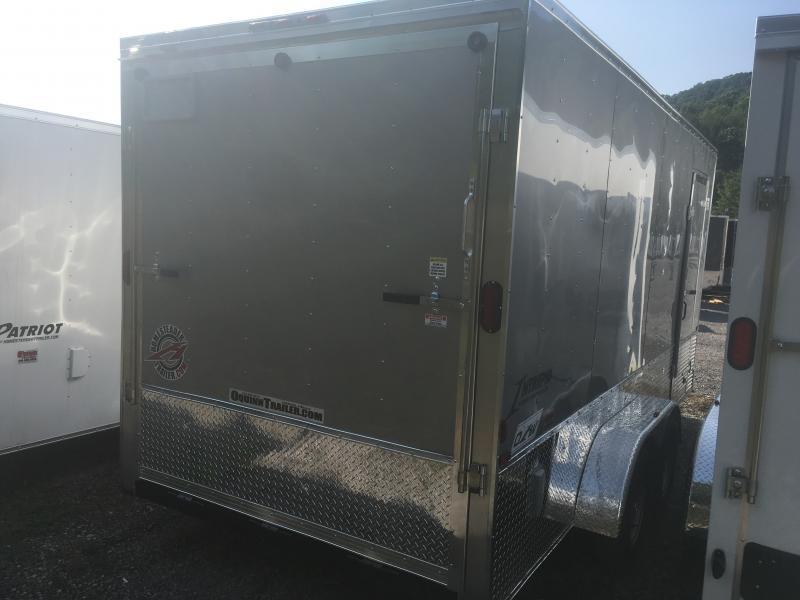 2020 Homesteader 7x16 Intrepid OHV pkg 1ft extra height Enclosed Cargo Trailer
