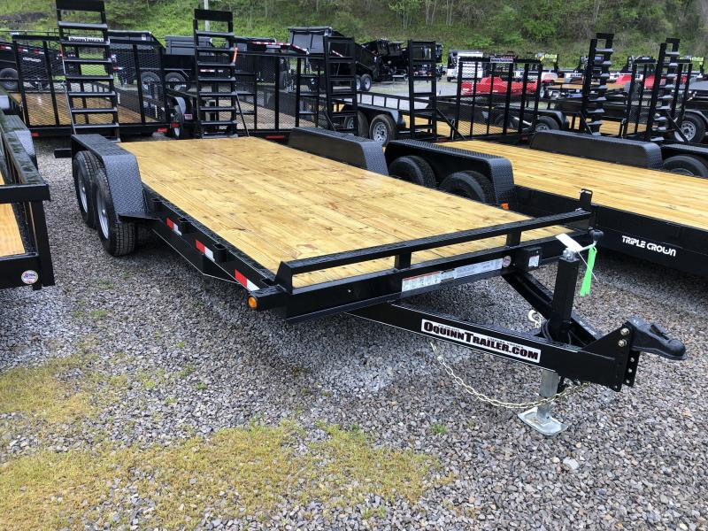 2020 Quality Trailers 82x18 5ton bumper pull Equipment Trailer