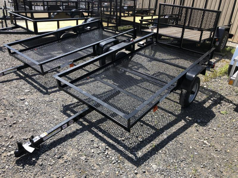 2019 Triple Crown 4x8 econo single axle w/gate Utility Trailer