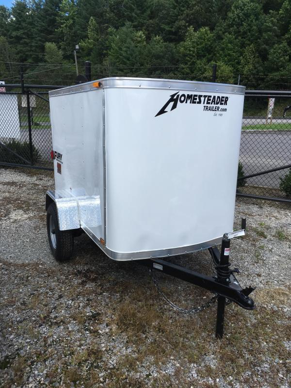 2020 Homesteader 4x6 swing door Enclosed Cargo Trailer