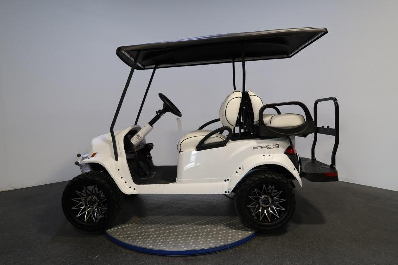 2019 Club Car Onward 4 Passenger Limited Edition Snowstorm