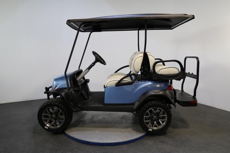 2020 Club Car Onward Special Edition Ice Storm 4 Passenger Lifted Golf Cart