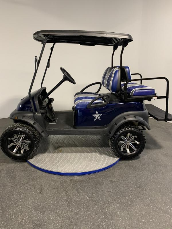 2018 Club Car Precedent Golf Cart Lifted 4 Passenger Game Day