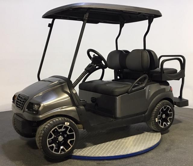2017 Club Car PRECEDENT PHANTOM GRAPHITE 4 PASSENGER Golf Cart