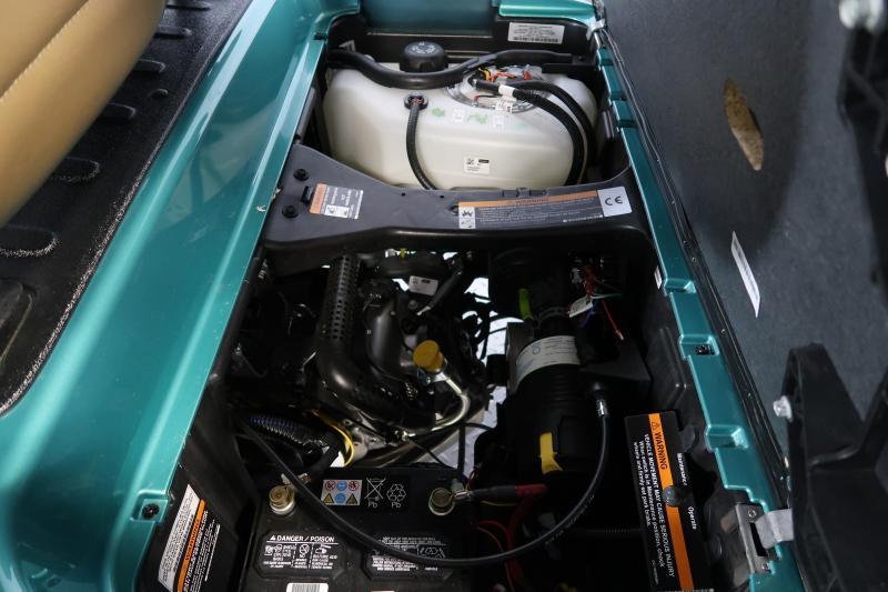 2020 Club Car Onward Metallic Ocean Teal Lifted 4 Passenger