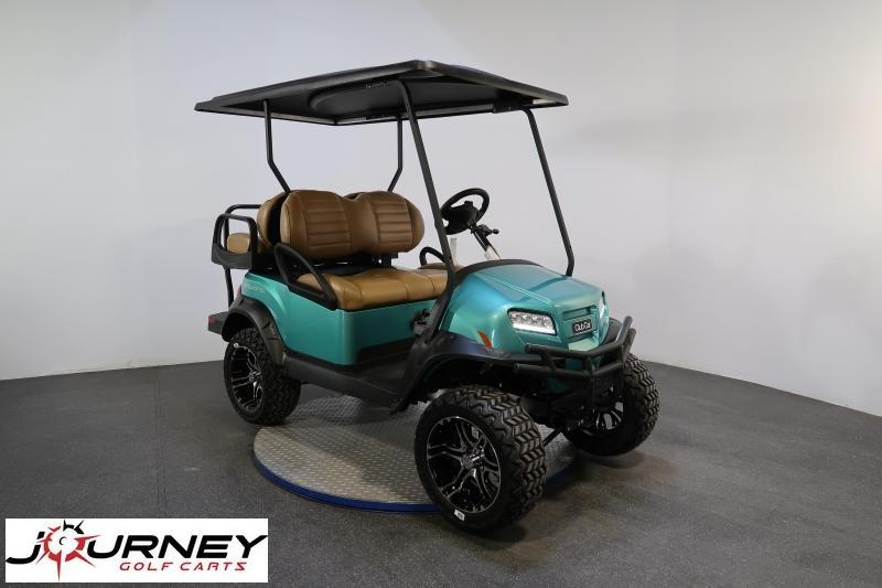 2020 Club Car Onward Metallic Ocean Teal Lifted 4 Passenger