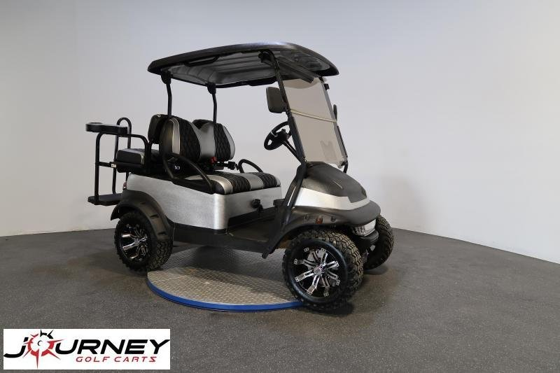 2017 Club Car Precedent Lifted 4 Passenger Custom Rhino Paint & Seats