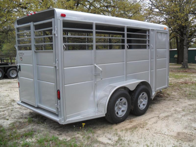 2020 Calico Trailers 16' bumper pull horse/ Livestock Trailer
