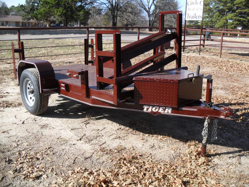 2020 Tiger 4' x 8' Welding Utility Trailer