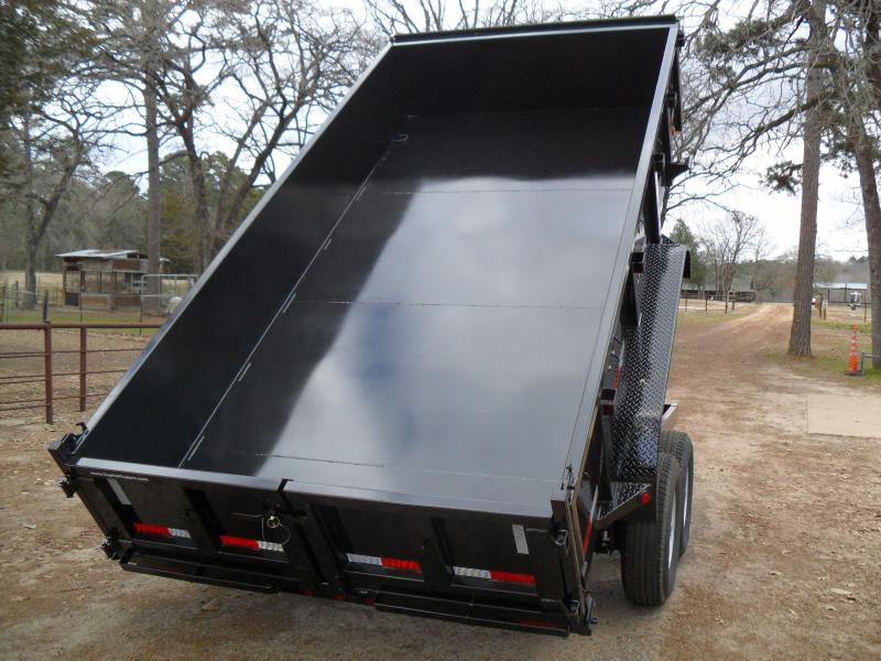 2019 Top Hat Trailers 14 X 83 Dump Trailer