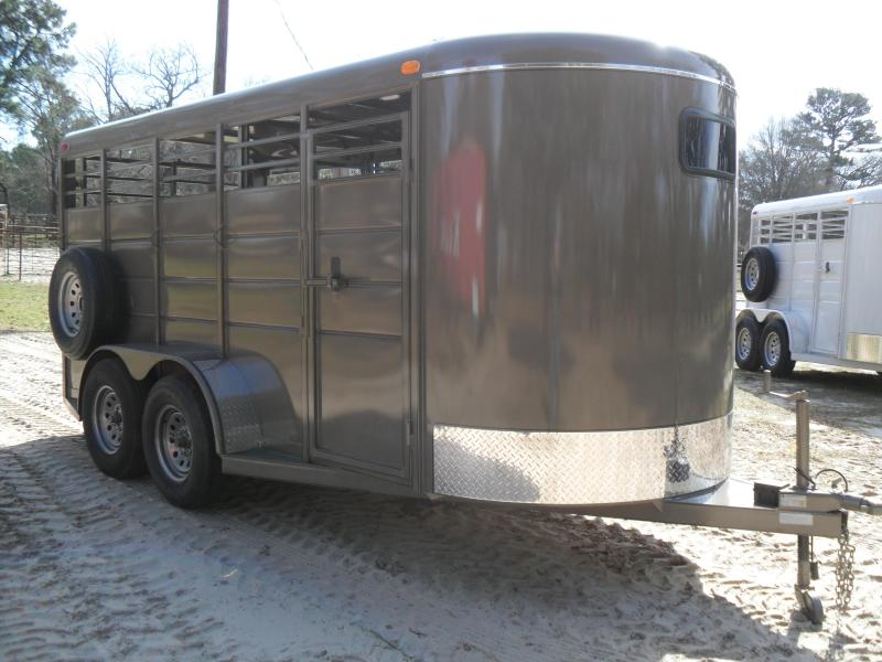 2019 Calico Trailers 16 Pig/Lamp/Goat Livestock Trailer