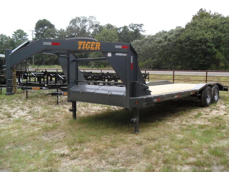 2019 Tiger 24 x 102 drive over fender Equipment Trailer