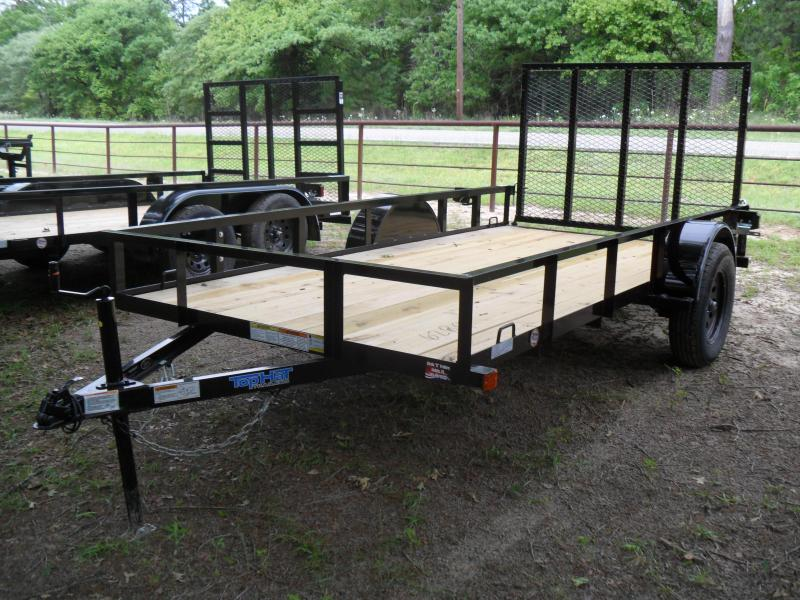2020 Top Hat Trailers 12' x 6' Single axle Utility Trailer