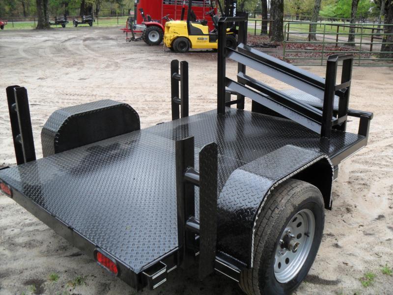 2020 Tiger 5' x 8' x welding Utility Trailer