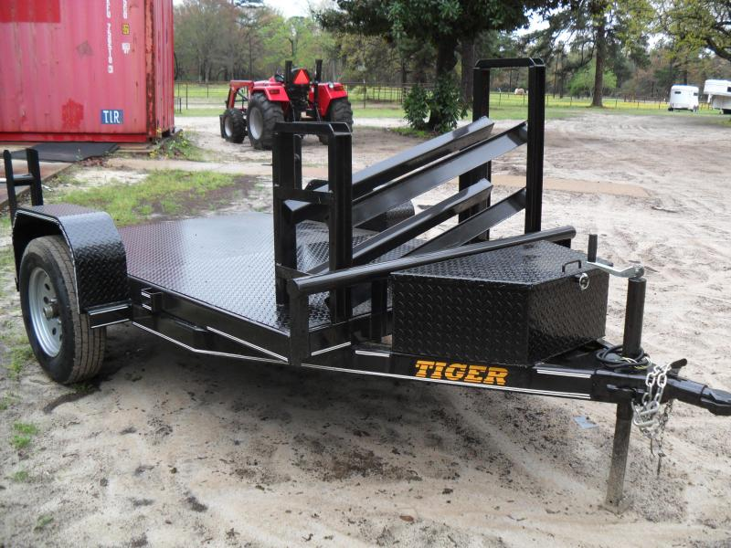 2018 Tiger 5 x 8 Welding Utility Trailer