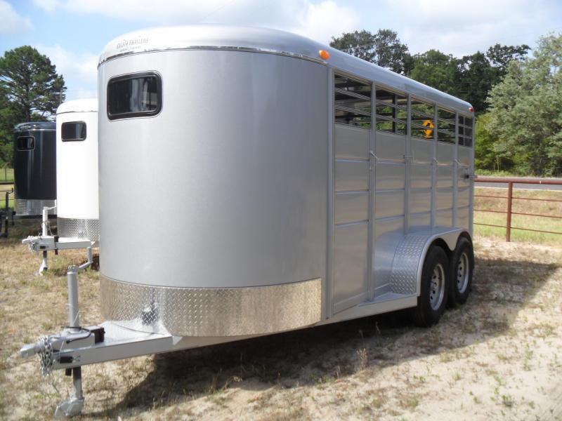 2020 Calico Trailers 16 bumper pull Livestock Trailer