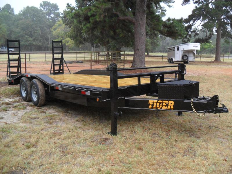2019 Tiger 20' Drive over fender Equipment Trailer