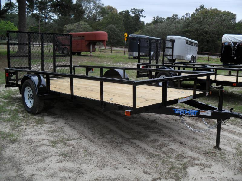 2019 Top Hat Trailers 14 x 77 single axle Utility Trailer
