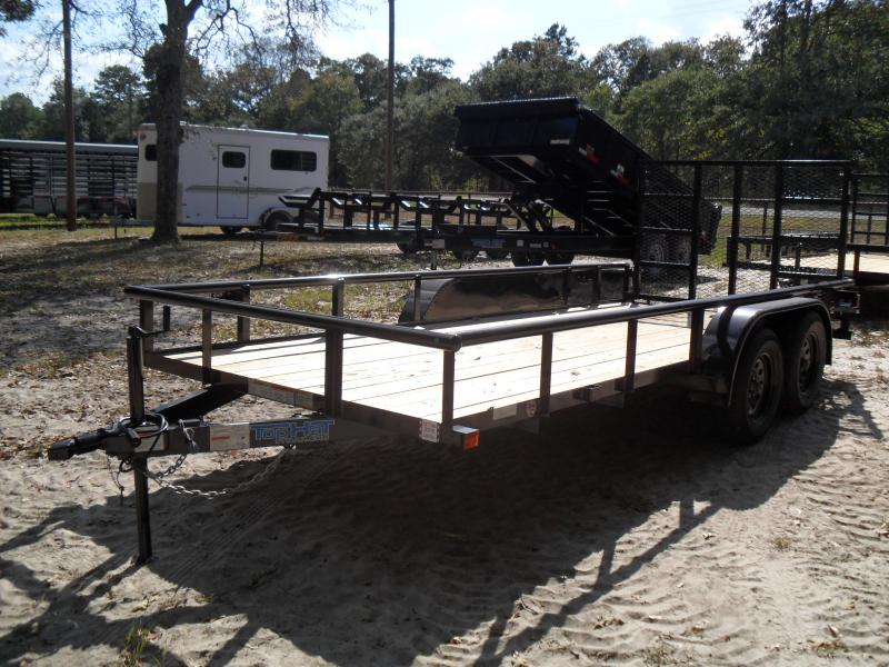2020 Top Hat Trailers 16 x 77 Pipe top Utility Trailer