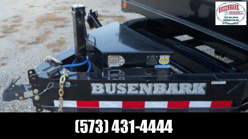 """96"""" X 16' Tandem Axle Pintle Hook Deck Over Dump DZ9616072"""