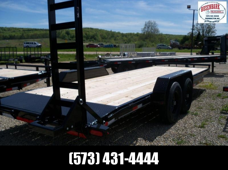 22x083 Lamar Black Equipment Hauler 2' Dove Stand Up Ramps H6832227
