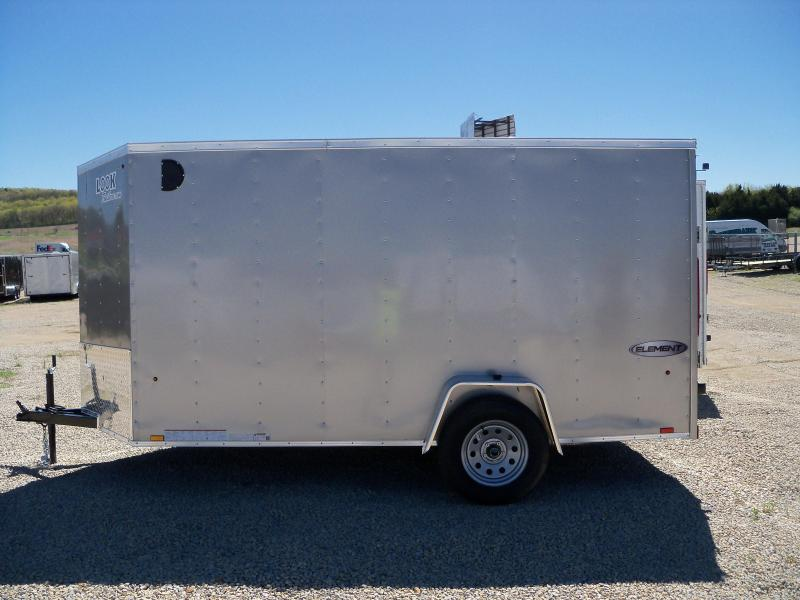 EWLC6X12SI2 Look Trailers Element Cargo Flat Top Cargo / Enclosed Trailer