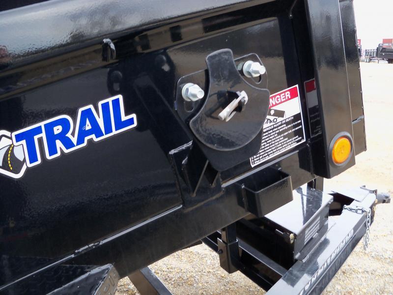 "10x060 Load Trail Black Tandem Axle Dump Trailer 24"" Sides DT6010032"