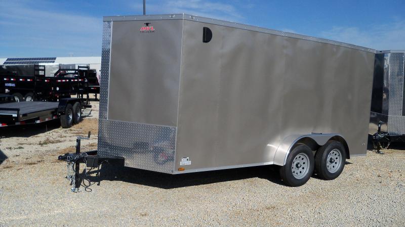 AT7X14TA2 Enclosed Cargo Trailer
