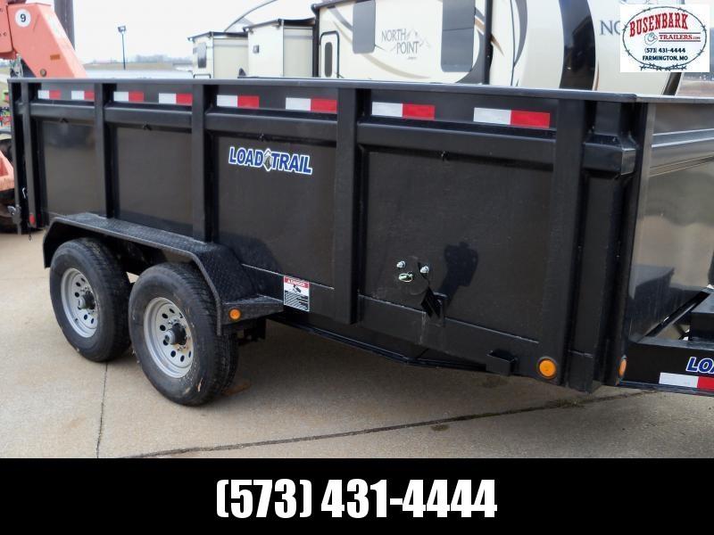 """2020 Load Trail DT8314072 83"""" x 14' Tandem Axle Dump Tall Side"""