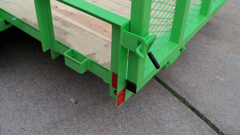 12*077 4' GATE GREEN UT771213