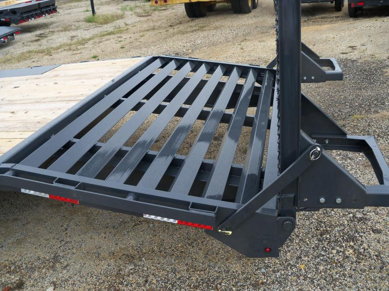 """24X102 Lamar Charcoal Deck Over 24"""" Stand Up Ramps F8022427"""